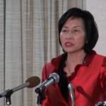 うちわで辞任に追い込まれた松島みどり選挙は優勢