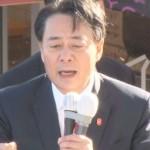 民主党の海江田万里代表、福島で第一声(街頭演説)【動画あり】